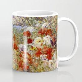 Celia Thaxter's Garden, Isles of Shoals, Maine - Childe Hassam Coffee Mug
