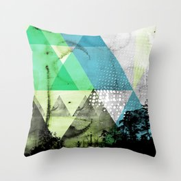 Abstract Geometry V3  Throw Pillow