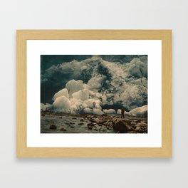 """""""Kjenndalsbreen Glacier Norway"""" Framed Art Print"""
