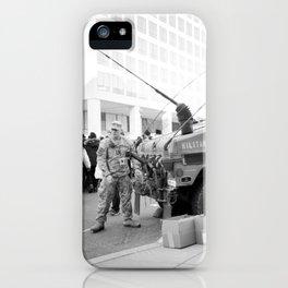 Inauguration Insanity: Washington, DC. iPhone Case