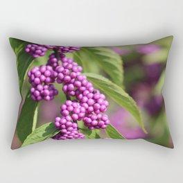 Purple Polka Dot Candy Rectangular Pillow