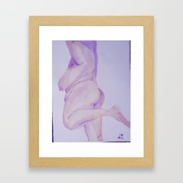 Grande Danseuse Framed Art Print