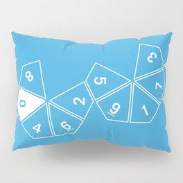 Blue Unrolled D10 Pillow Sham