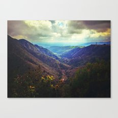 Upon the hill Canvas Print