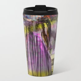 Alone In The Streets Metal Travel Mug