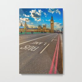 Big Ben Westminster Metal Print