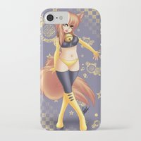 kiki iPhone & iPod Cases featuring Kiki by HaruShadows