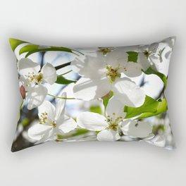 Crabapple Flowers 05 Rectangular Pillow