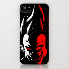 Prince Monster face iPhone Case