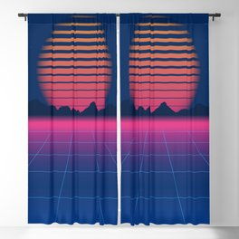 Sci-Fi and Fiction Background Blackout Curtain