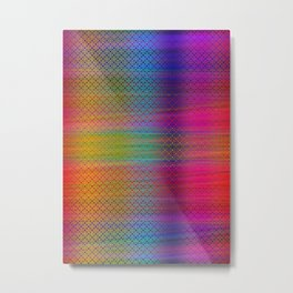 Colorful Sheet Metal Print