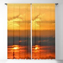 Sunset Horizon Blackout Curtain
