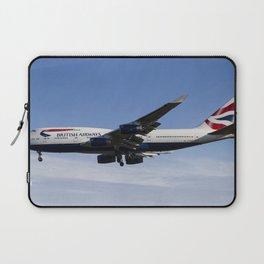 British Airways Boeing 747 Laptop Sleeve