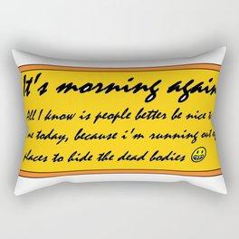 Morning Again Rectangular Pillow