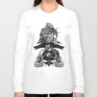 totem Long Sleeve T-shirts featuring Totem by DIVIDUS