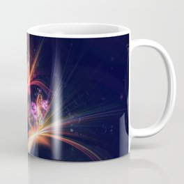 Coming of Spring 3D Fractal Render Coffee Mug