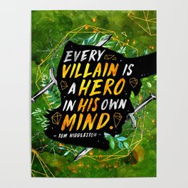 Every villain Poster