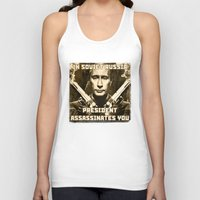 soviet Tank Tops featuring In soviet Russia  by MartiniWithATwist