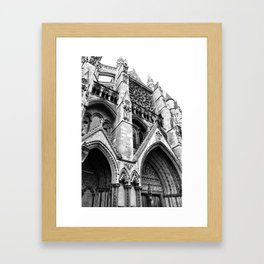 Holy Angles Framed Art Print