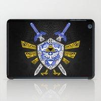 the legend of zelda iPad Cases featuring Heroes Legend - Zelda by Art & Be