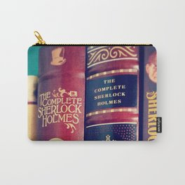 Library of Sherlock Holmes Carry-All Pouch