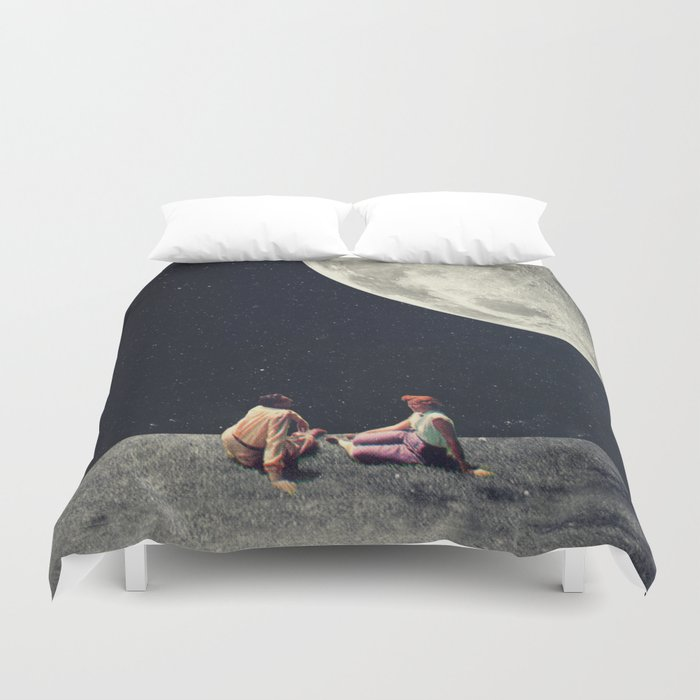 I Gave You the Moon for a Smile Duvet Cover