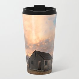 Sunrise at an Abandoned Farm Travel Mug