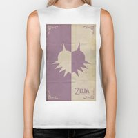 majoras mask Biker Tanks featuring Majoras Mask by cbrucc