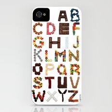 Candy Alphabet Slim Case iPhone (4, 4s)