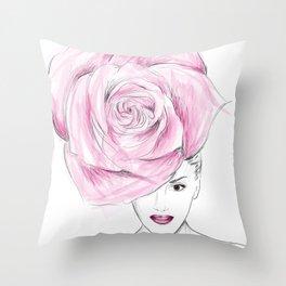 Bloom to Perish Throw Pillow