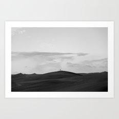 Black Sands Art Print