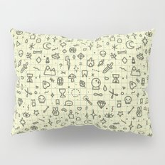 Doodles Pattern Pillow Sham