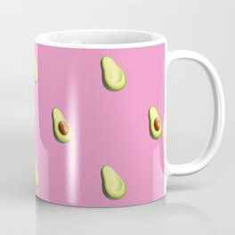 'ave an Avo! | Pink Print Coffee Mug