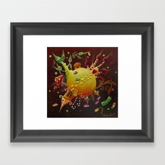 the little tale Framed Art Print