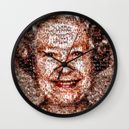 BEHIND THE FACE Queen Elizabeth | drunk and pregnant girls Wall Clock