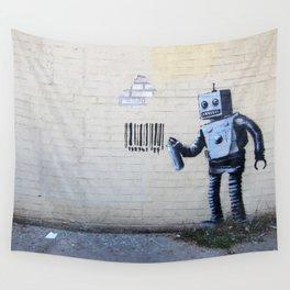 Banksy, Robot Wall Tapestry