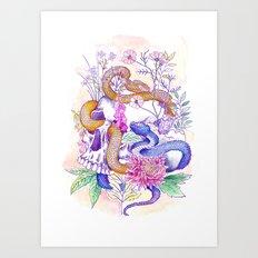 Hvasser Sommer Art Print