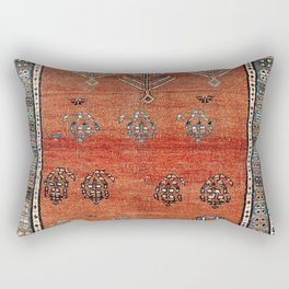 Bakhshaish Azerbaijan Northwest Persian Carpet Print Rectangular Pillow