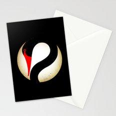 Black Swan Logo Stationery Cards