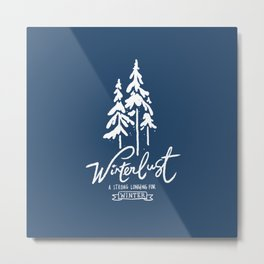winterlust Metal Print