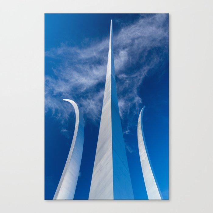 Steel Spires Toward Heaven Canvas Print