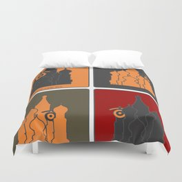 russ.eye Duvet Cover