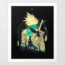 Ex-Soldier of the VII Art Print