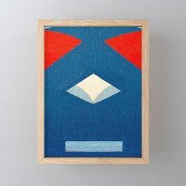 Lucha Libre Mask 3 Framed Mini Art Print