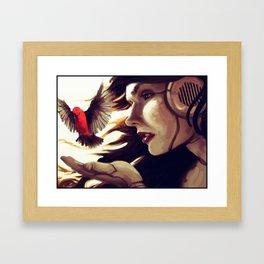 The Bird is Also a Robot Framed Art Print