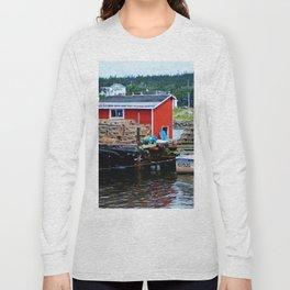 Fisherman's Shack Long Sleeve T-shirt