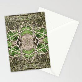 507 - Abstract Forest Design Stationery Cards