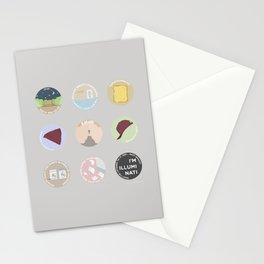 EVAK: A MINIMALIST LOVE STORY Stationery Cards