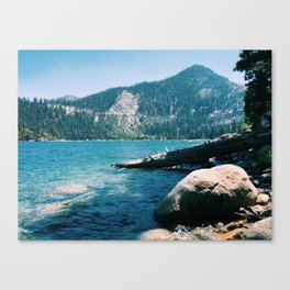 Emerald Bay from Rubicon Trail Canvas Print