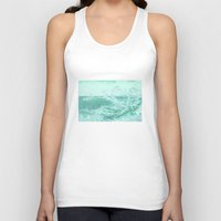 wave Tank Tops featuring wave by Alexandr-Az